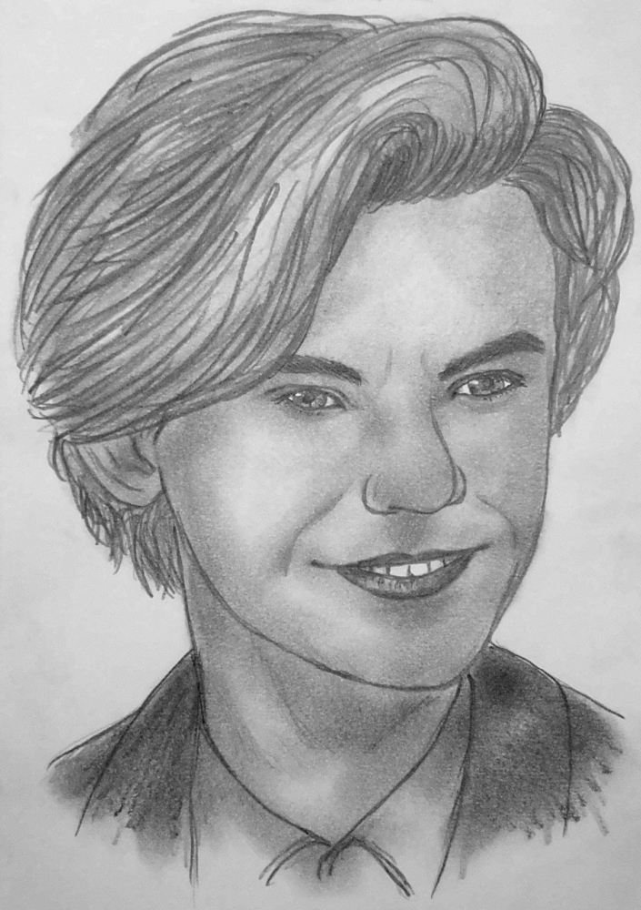 Thomas Brodie-Sangster by kendzik